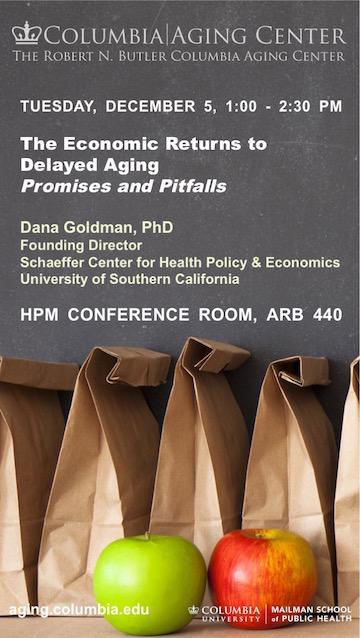 Dana Goldman Seminar Dec. 5