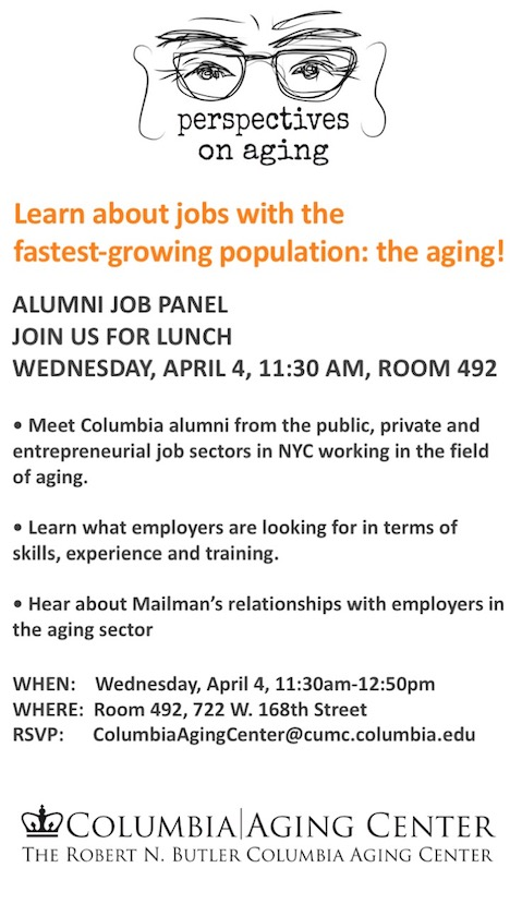 Job Panel | The Robert N  Butler Columbia Aging Center