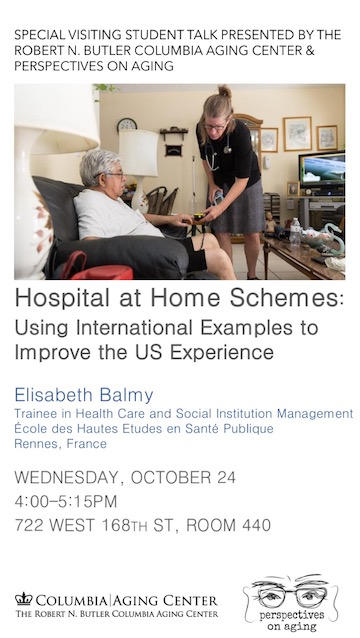 Balmy Talk: Hospital at Home Schemes