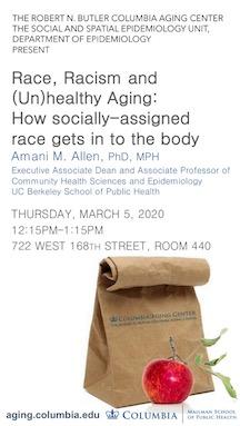 Amani Allen Brown Bag Seminar