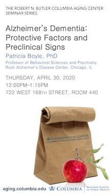 Patricia Boyle Brown Bag Seminar