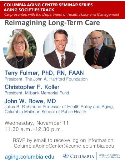 Reimagining Long-Term Care Seminar