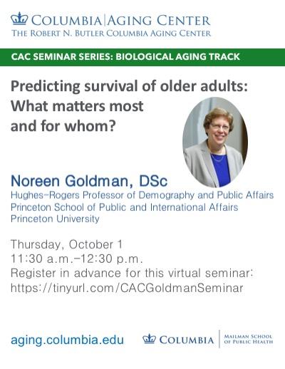 CAC Goldman Seminar Flyer