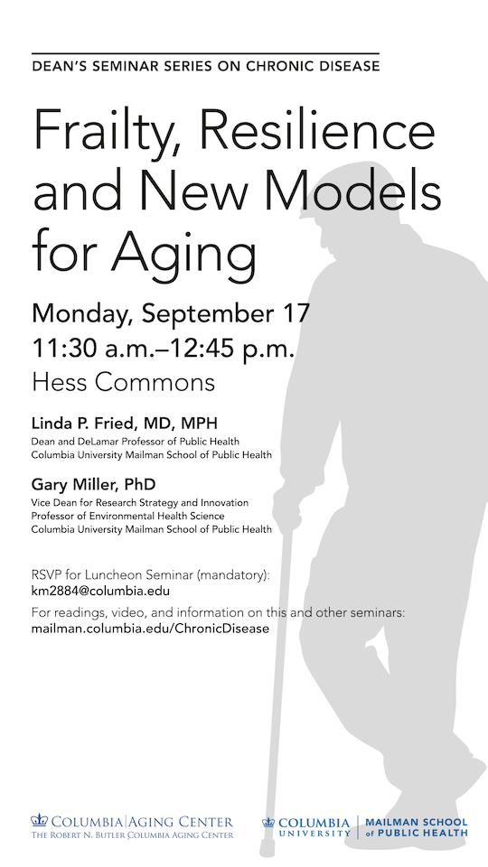 Chronic Disease & CAC Seminar by Linda Fried