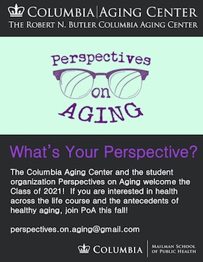 Perspectives on Aging Student Group