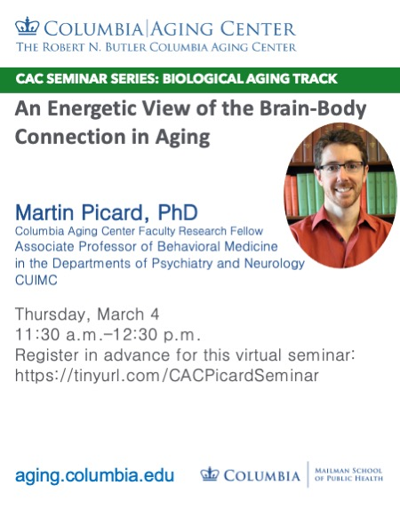 Martin Picard on Brain-Body Energetics Connection