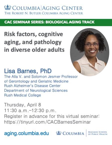 Lisa Barnes on Risk Factors in Cognitive Aging in Diverse Older Adults