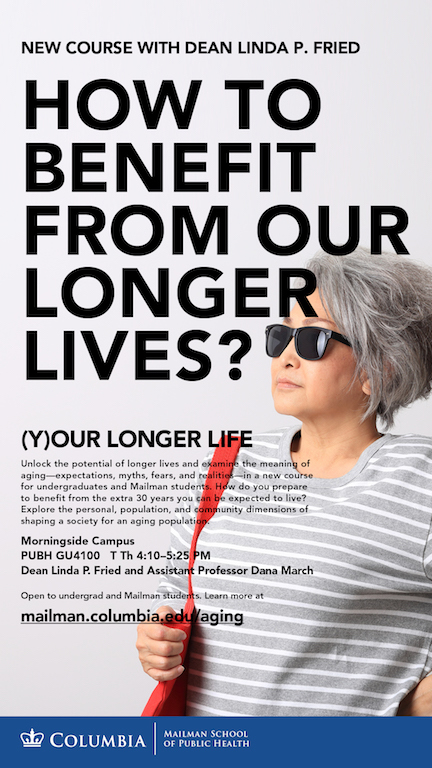 Poster for the new course: Your Longer Life