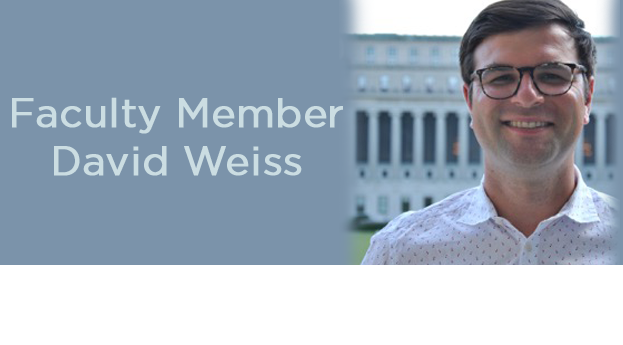 Faculty Member David Weiss